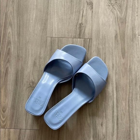 Zara Thick Heeled Sandal